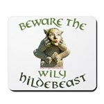 Hildebeast anti-Hillary Mousepad