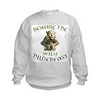 Hildebeast anti-Hillary Kids Sweatshirt