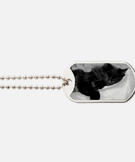 card lazy day Dog Tags