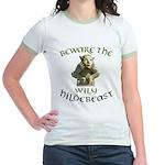 Hildebeast anti-Hillary Jr. Ringer T-Shirt