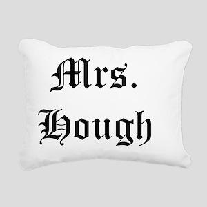 mrs hough Rectangular Canvas Pillow