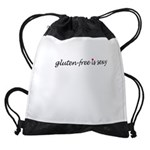 Gluten-Free Is Sexy Drawstring Bag