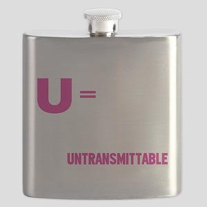 U=U Undetectable = Untransmittable Flask
