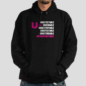 U=U Undetectable = Untransmittable Sweatshirt