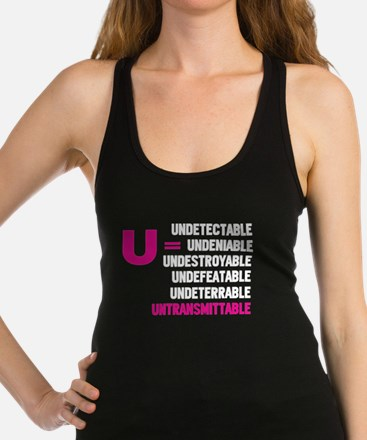 U=U Undetectable = Untransmittable Tank Top
