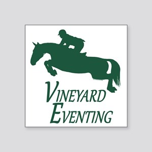 "3 day eventing Square Sticker 3"" x 3"""