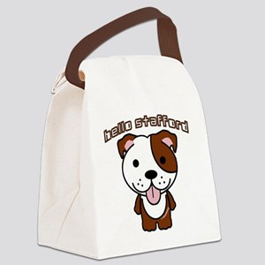 Hello Stafford3 copy Canvas Lunch Bag