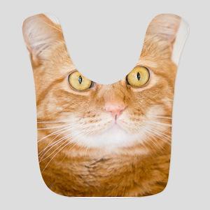 Orange Cat Bib