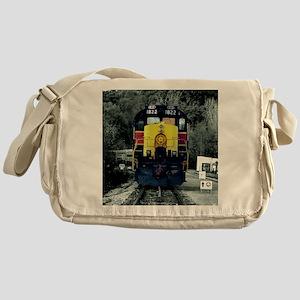 caboose pillow Messenger Bag
