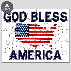 God-Bless-America-2-(white-shirt) Puzzle