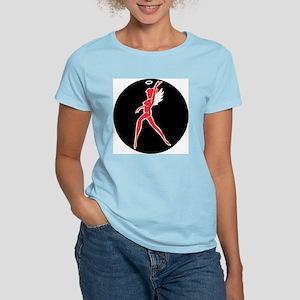 Hell's Angel -  Women's Pink T-Shirt