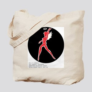 Hell's Angel + blood chit Tote Bag