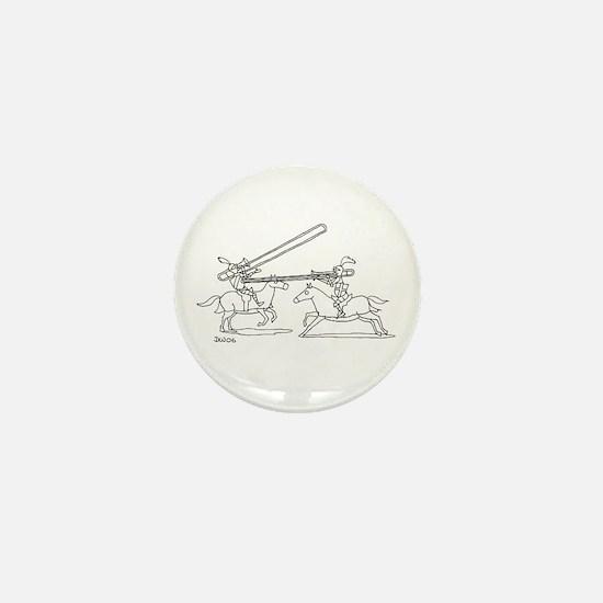 Cute Brass Mini Button