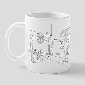 Trombone Darts Mug