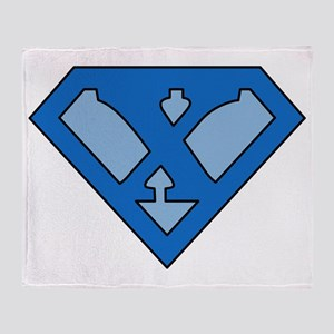 superblue_x Throw Blanket