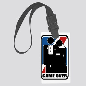 tshirt designs 0436 Large Luggage Tag