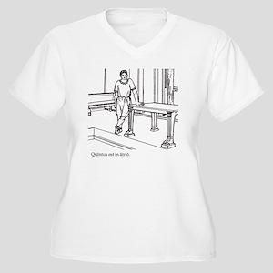 Quintus_3 Women's Plus Size V-Neck T-Shirt