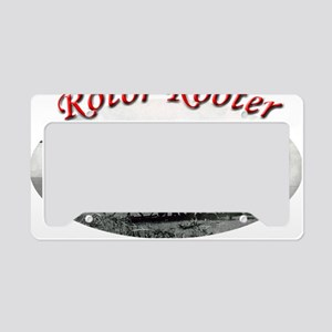 rotor rooter2 License Plate Holder
