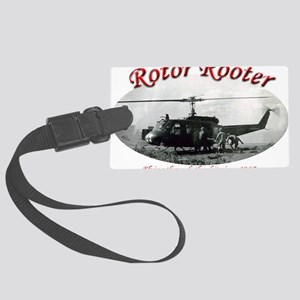 rotor rooter2 Large Luggage Tag
