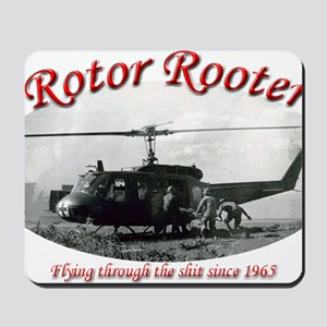 rotor rooter2 Mousepad