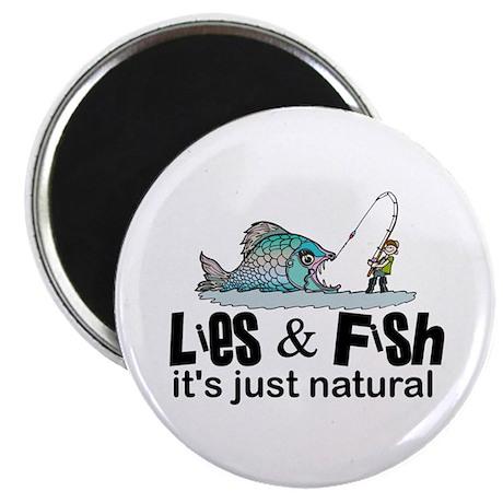 Lies & Fish Magnet