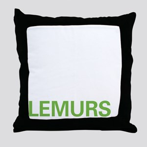 livelemur2 Throw Pillow