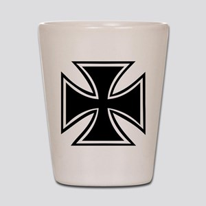 iron_cross_outline Shot Glass