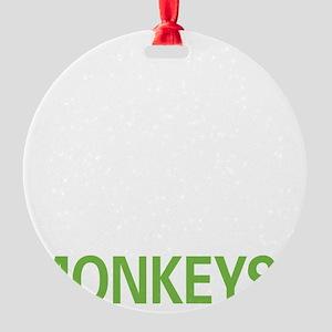 livemonkey2 Round Ornament