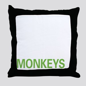 livemonkey2 Throw Pillow