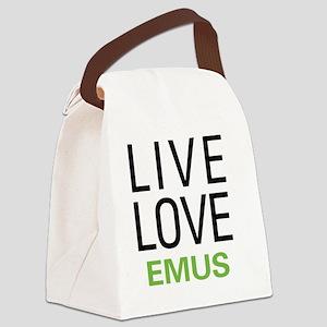 liveemu Canvas Lunch Bag