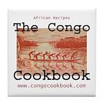 Congo Cookbook Tile Coaster