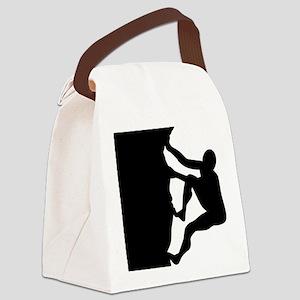 climbing Canvas Lunch Bag