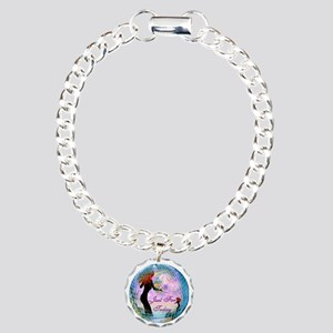 Just for today Charm Bracelet, One Charm