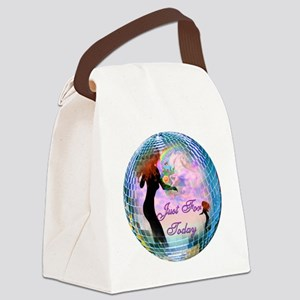 Just for today Canvas Lunch Bag