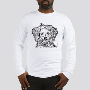 Schnoodle_bw Long Sleeve T-Shirt