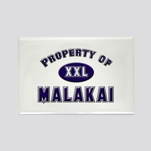 Property of malakai Rectangle Magnet