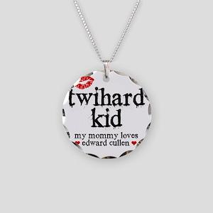 Twihard Kid Necklace Circle Charm