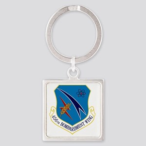456th Bomb Wing Square Keychain