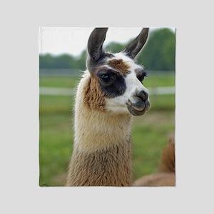 llama2_lgframe Throw Blanket