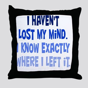 lostmymind_rnd2 Throw Pillow