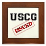 USCG Issued Framed Tile