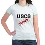 USCG Issued Jr. Ringer T-Shirt