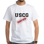 USCG Issued White T-Shirt