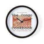 Congo Cookbook Wall Clock