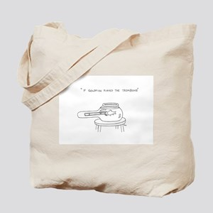 Trombone Goldfish Tote Bag