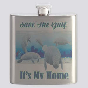 save the gulf Flask