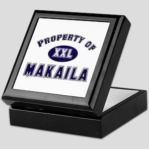 Property of makaila Keepsake Box