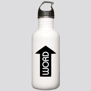 Word Up (white tees) Stainless Water Bottle 1.0L