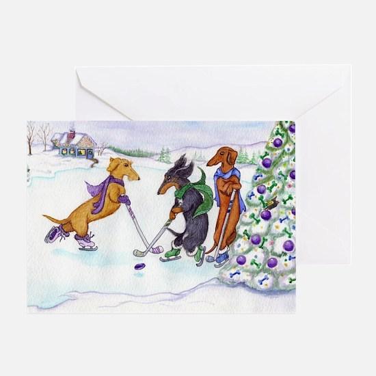 hockey5x7a Greeting Card