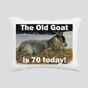 goat70ys Rectangular Canvas Pillow